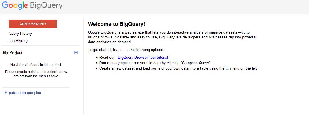 Google BigQuery | TomazTsql