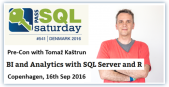 SqlSaturday Denmark precon 2016