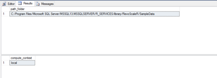 Size of XDF files using RevoScaleR package