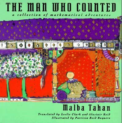 "Linear regression in ""The Man who counted"""
