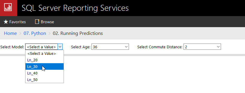 Using Python with Microsoft Reporting Services (SSRS