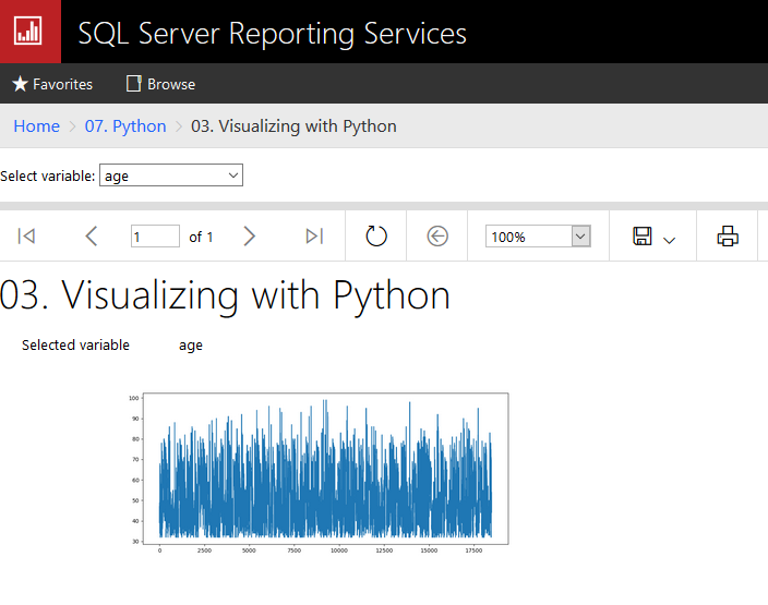 2018-11-18 22_59_18-03. Visualizing with Python - SQL Server 2017 Reporting Services